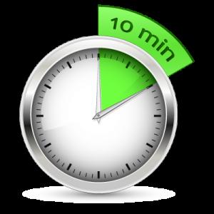 Meshuga Monday The 10 minute rule
